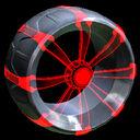 Picket Holographic wheel icon crimson