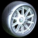 Revenant wheel icon titanium white
