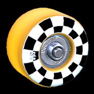 Sk8ter wheel icon orange