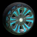 Thread-X2 wheel icon sky blue
