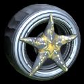 Asterias wheel icon black