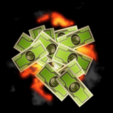 Money rocket boost icon