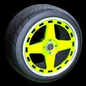Alchemist wheel icon lime