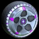 Diomedes wheel icon purple