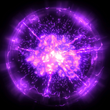 Standard Purple goal explosion icon