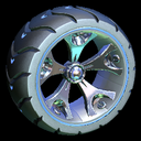 Wrench-Roller wheel icon cobalt