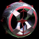 Blender wheel icon crimson