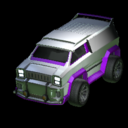 Merc body icon purple