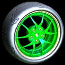 Nipper wheel icon forest green