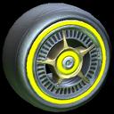 SLK wheel icon saffron