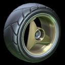 Troika wheel icon black