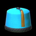 Fez topper icon sky blue