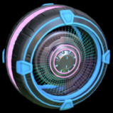 Parabolic wheel icon