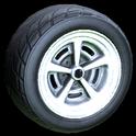 Veloce wheel icon titanium white