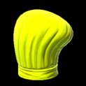 Chefs hat topper icon saffron