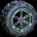 Trahere wheel icon forest green