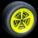 Veloce wheel icon saffron