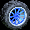 Almas wheel icon cobalt