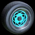Falco wheel icon sky blue