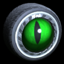 Grimalkin wheel icon forest green