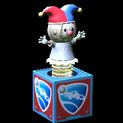 Jack-in-the-Box topper icon titanium white