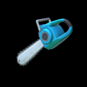 Chainsaw topper icon sky blue