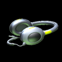 MMS Headphones topper icon saffron