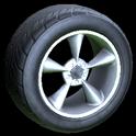 Stern wheel icon titanium white
