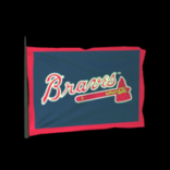 Atlanta Braves antenna icon