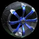Picket wheel icon cobalt