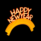 Happy New Year topper icon