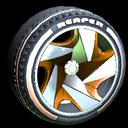 Reaper wheel icon burnt sienna