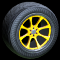 Octavian wheel icon orange