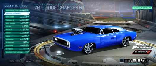 '70 Dodge Charger RT showroom preview
