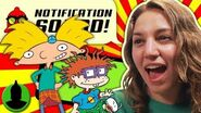 What is the BEST Retro Nicktoon?! Hey Arnold! Rugrats MORE - Notification Squad S2 E11