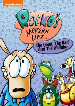 Rocko's Modern Life - The Good, the Bad, and the Wallaby DVD.jpg