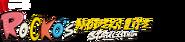 Rocko's Modern Life Static Cling Netflix Logo