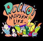 Rocko's modern life logo