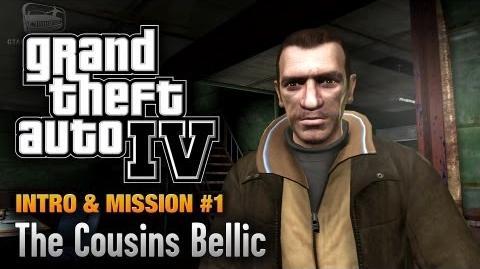 GTA 4 - Intro & Mission 1 - The Cousins Bellic (1080p)-2