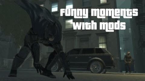 GTA 4 Funny Moments With Mods
