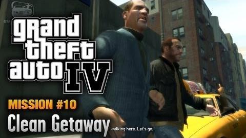 GTA 4 - Mission 10 - Clean Getaway (1080p)