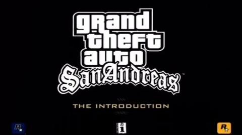 """GTA San Andreas """"The Introduction"""" Official Trailer HD CC-0"""