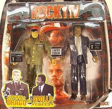 Ivan Drago vs. Apollo Creed (Rocky Series 4)