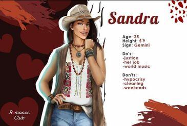 Sandra's Profile