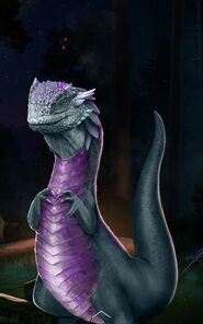 Strange reptile