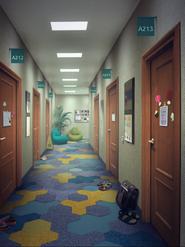 MBcollege corridor