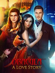 Dracula A Love Story Cover