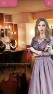 Эмма в лавандовом платье