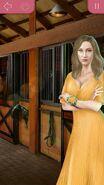 Эмма в желтом платье