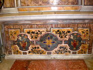 2011 Ambrogio, first left altar frontal